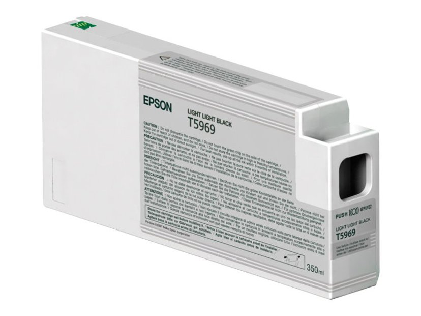 Epson Muste Kevyt Light Musta 350ml - 7900/9900
