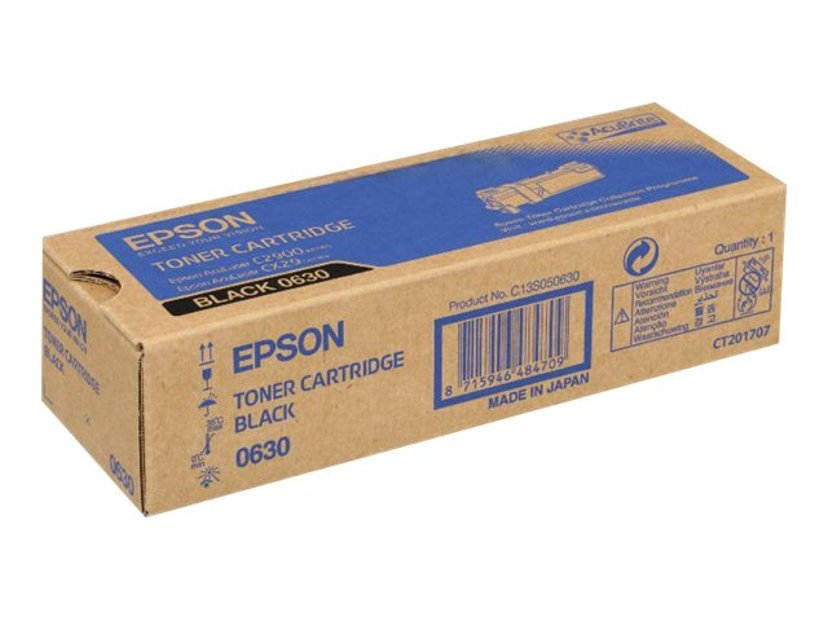 Epson Värikasetti Musta 3k - AL-C2900N/CX29NF/DNF