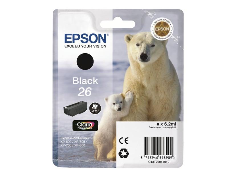 Epson Blekk Cyan 26 Claria Premium