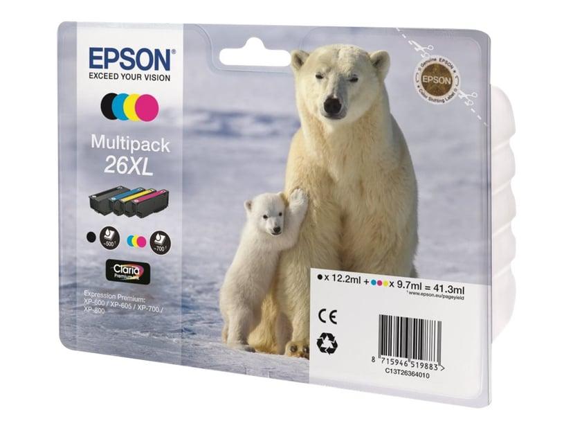 Epson Blæk Multipak 4-ColorS 26XL Claria Premium