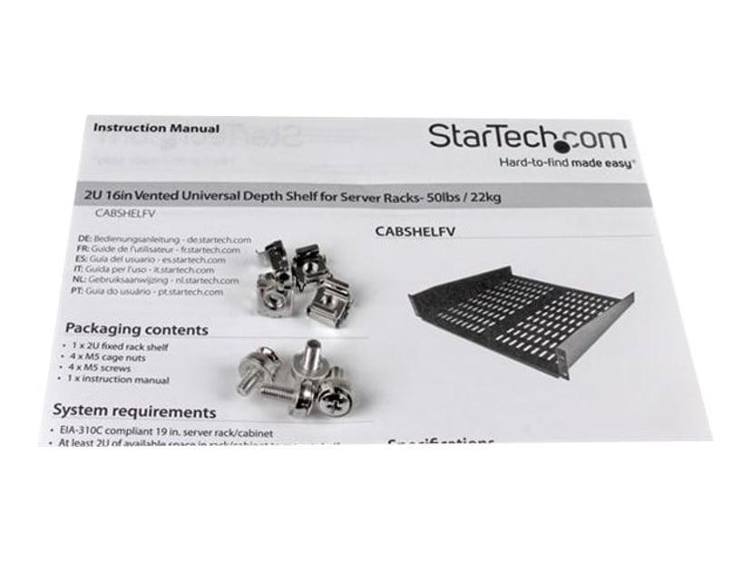 Startech Rack-hylle
