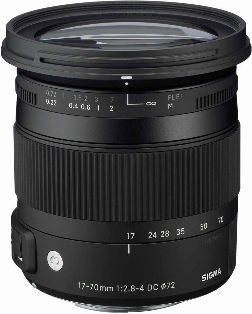 Sigma AF 17-70/2,8-4 DC OS HSM Makro Canon