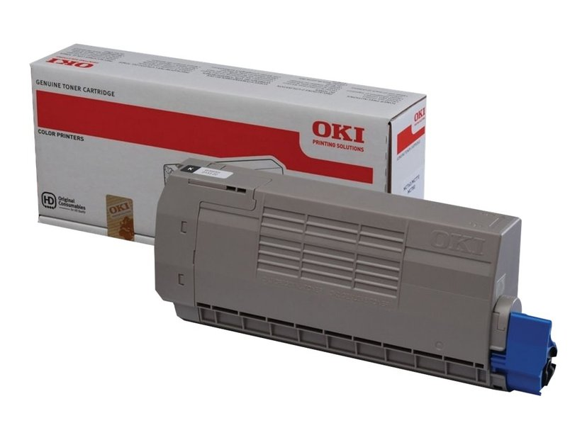 OKI Toner Svart 8k - MC760/70/80 SERIE
