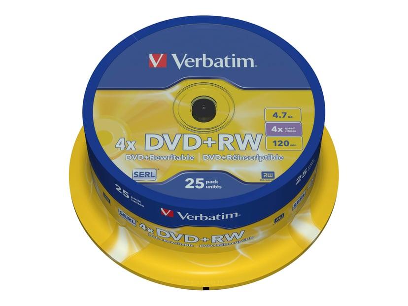 Verbatim DVD+RW x 25 4.7GB