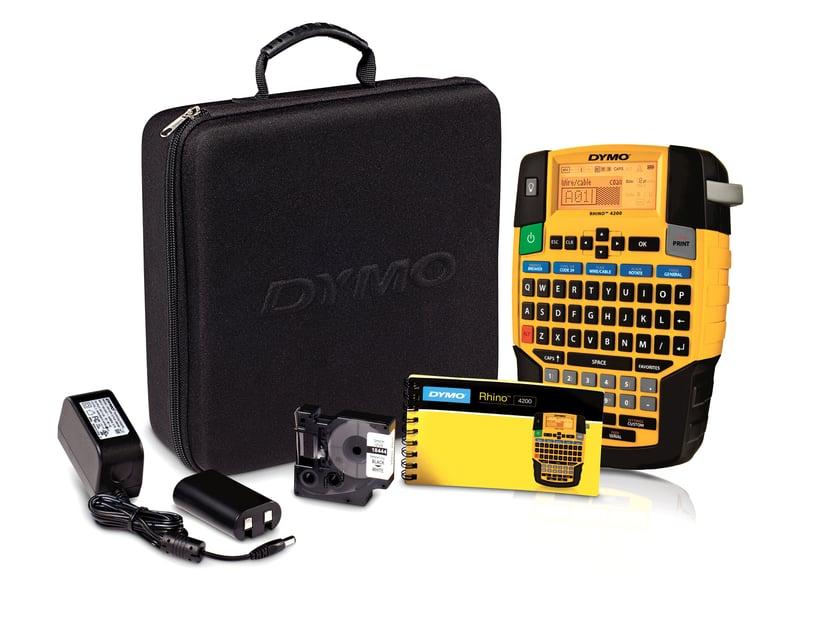 Dymo Rhino 4200 Kit Inkl Hård Väska