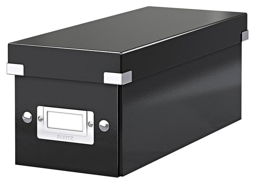 Leitz WOW Click & Store CD 143x136x352mm Svart