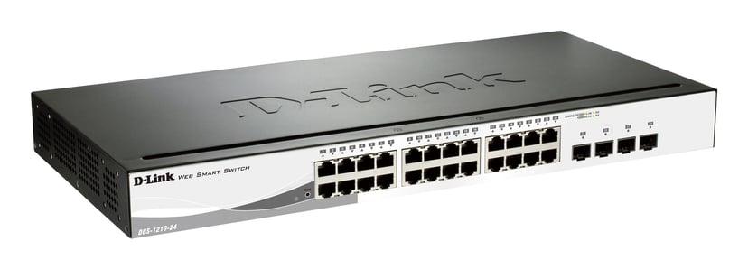 D-Link DGS-1210-24P 24-Port Gigabit PoE (85W) Smart Switch