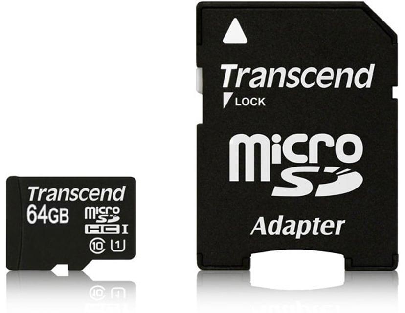 Transcend Ts64gusdu1 64GB SDXC UHS-I minneskort
