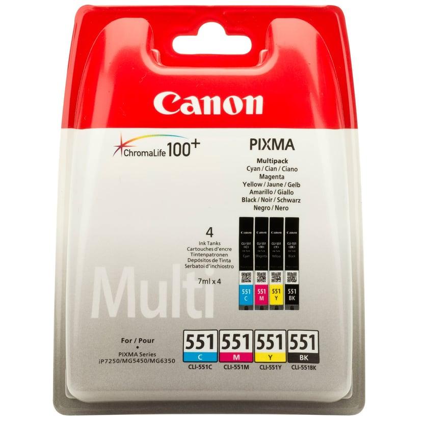 Canon Blekk Multipack CLI-551 (C/M/Y/BK)