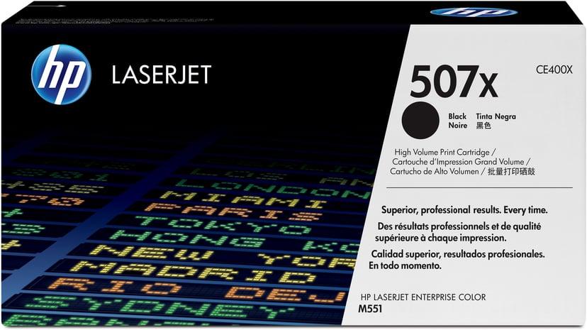 HP Toner Sort 507X 11K - CE400X  #Köp