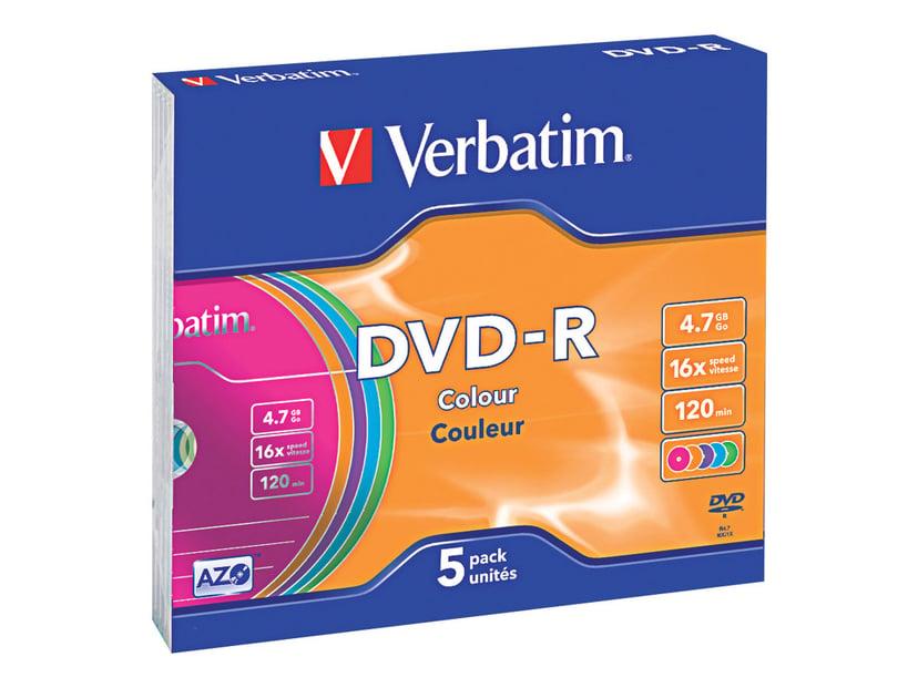 Verbatim Colours 4.7GB