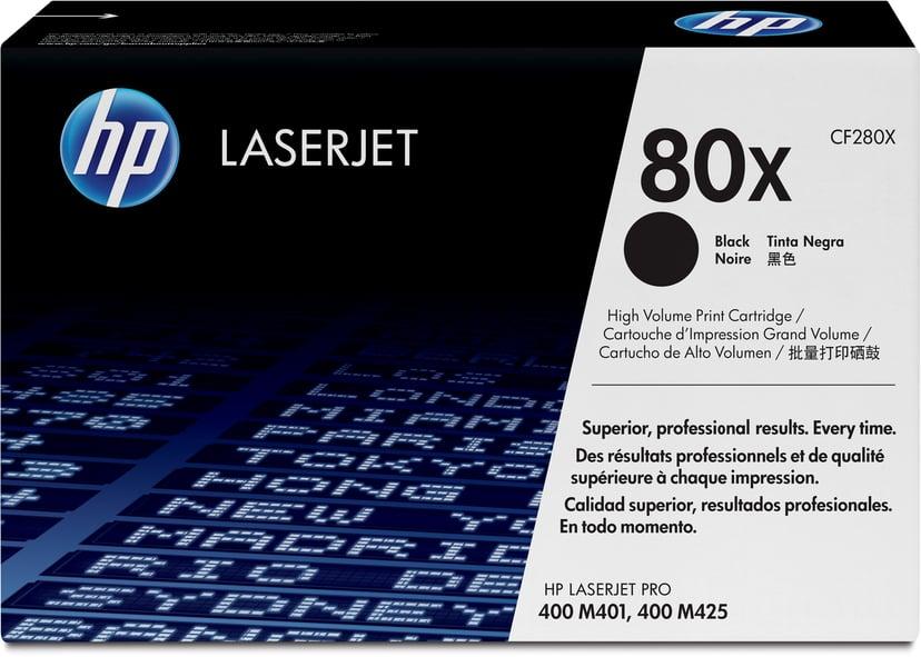 HP Toner Svart 80X 6.9K - CF280X  #ATTACH
