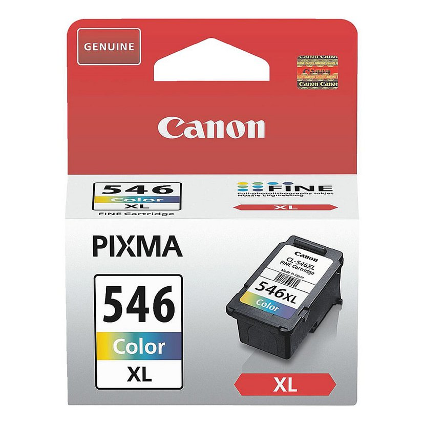 Canon Blekk Farge CL-546XL - MG2550