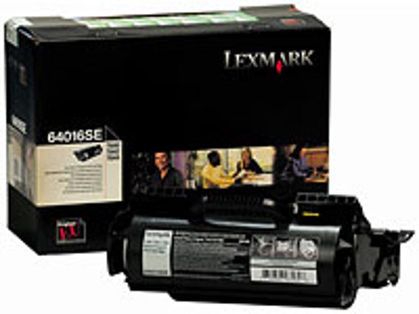 Lexmark Toner Zwart 6k - T640 Return