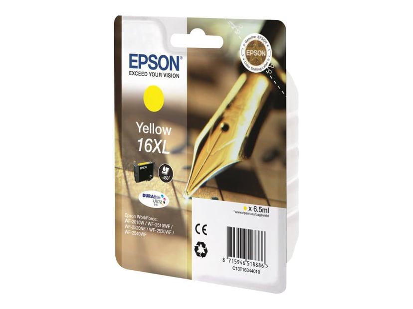 Epson Bläck Gul XL T1634 - WF-2530WF/WF-2660DWF