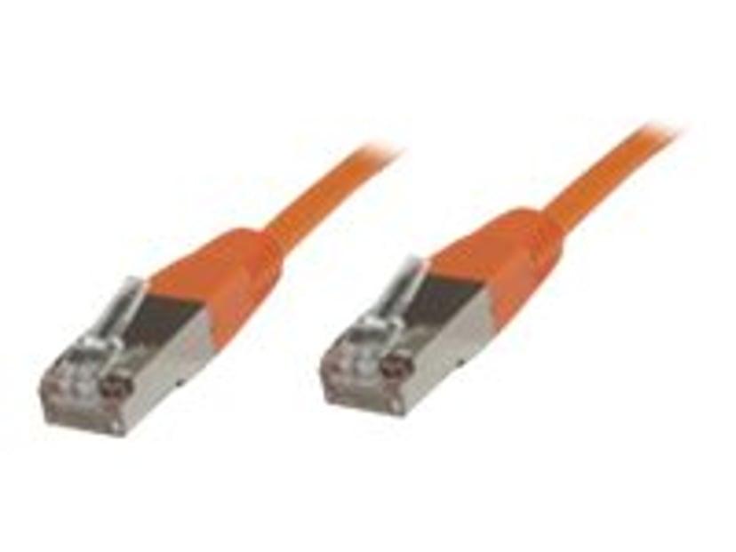 Microconnect Nettverkskabel RJ-45 RJ-45 CAT 6 10m Oransje