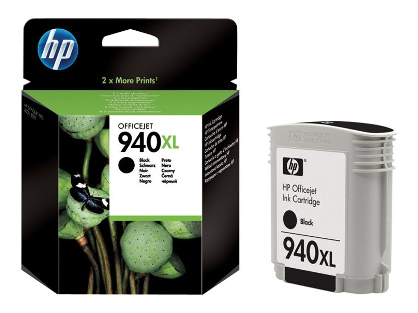 HP Blekk Svart No.940XL