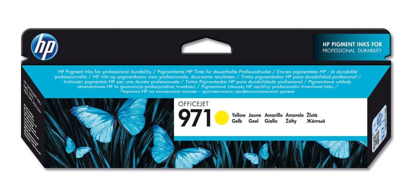 HP Bläck Gul No.971 2.5K - OfficeJet Pro X451/X551/X476 X576