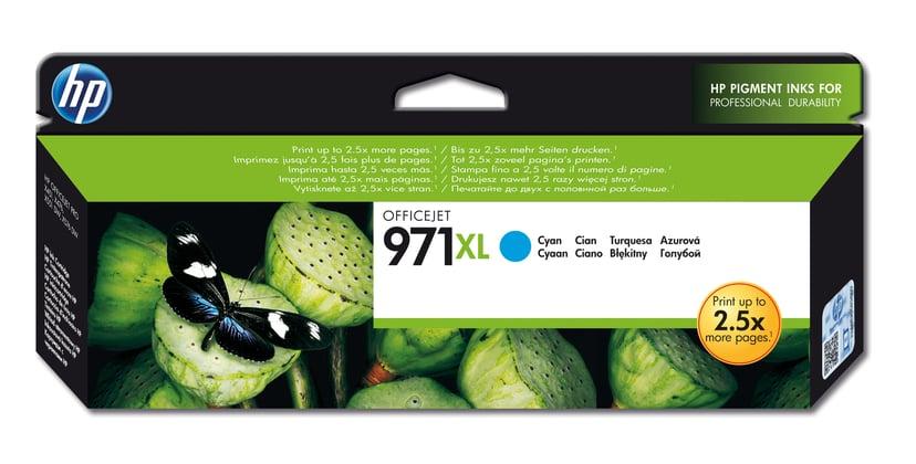 HP Bläck Cyan No.971XL 6,6K - OfficeJet Pro X451/X551/X476 X576