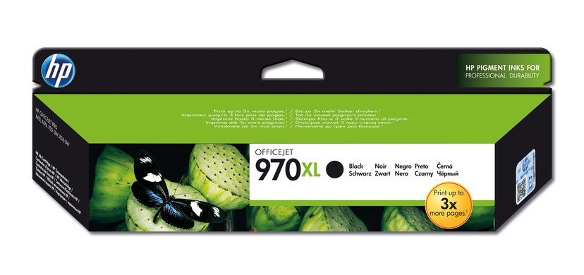 HP Blekk Svart No.970XL 9,2K - OfficeJet Pro X451/X551/X476 X576