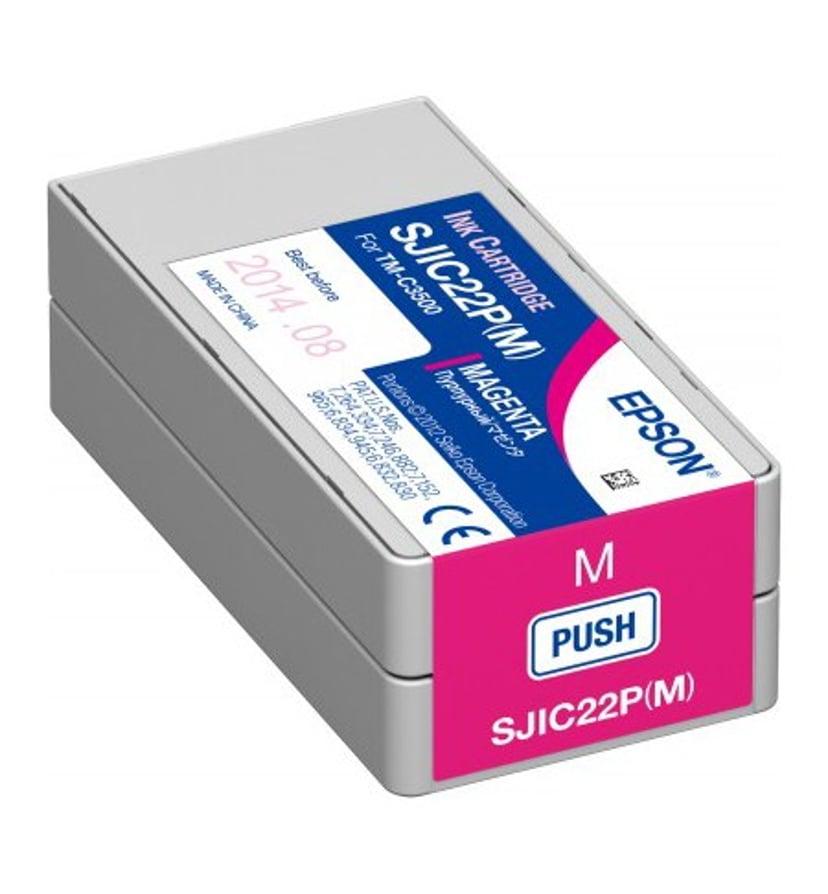Epson Bläck Magenta SJIC22P(M) - TM-3500