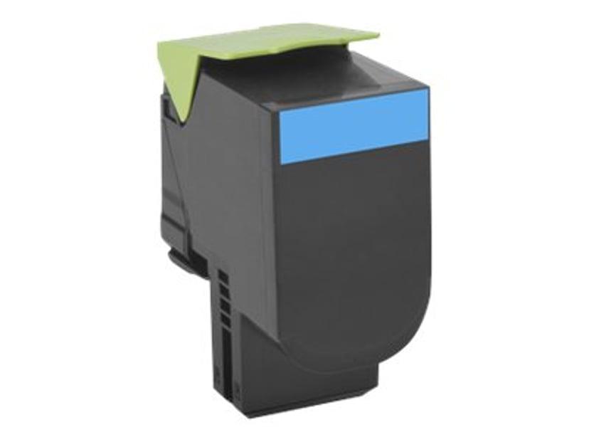 Lexmark Toner Cyaan 4k - CS510DE/CS510DTE