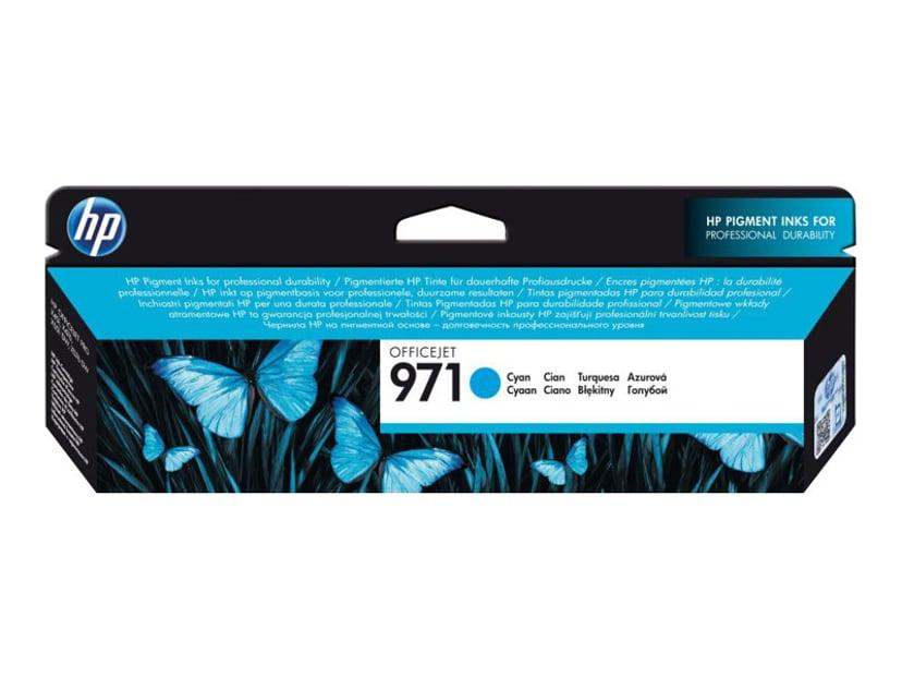 HP Blæk Cyan No.971 2.5K - OfficeJet Pro X451/X551/X476 X576
