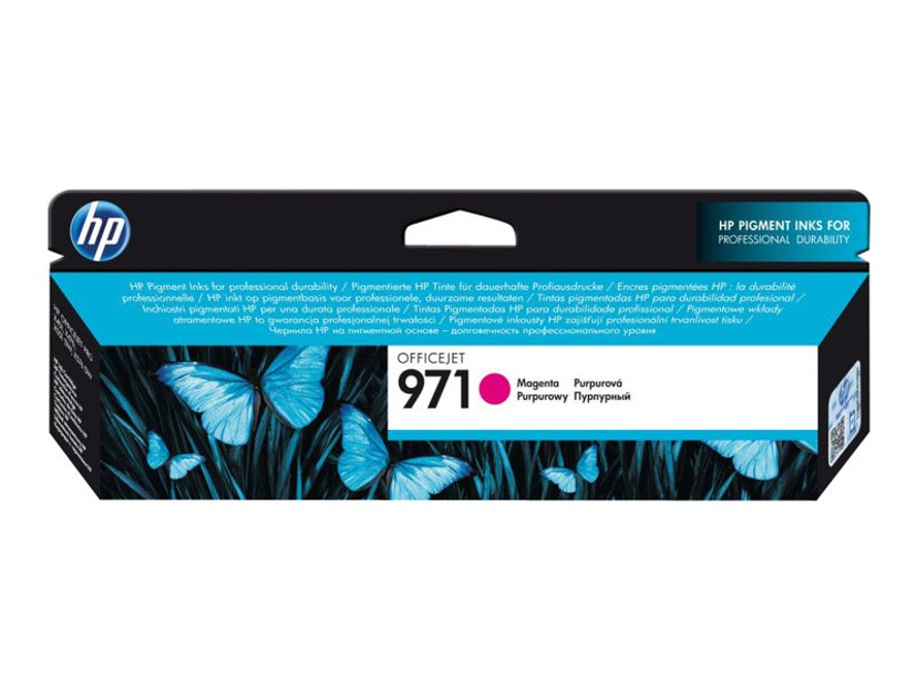HP Bläck Magenta No.971 2.5K - OfficeJet Pro X451/X551/X476 X576