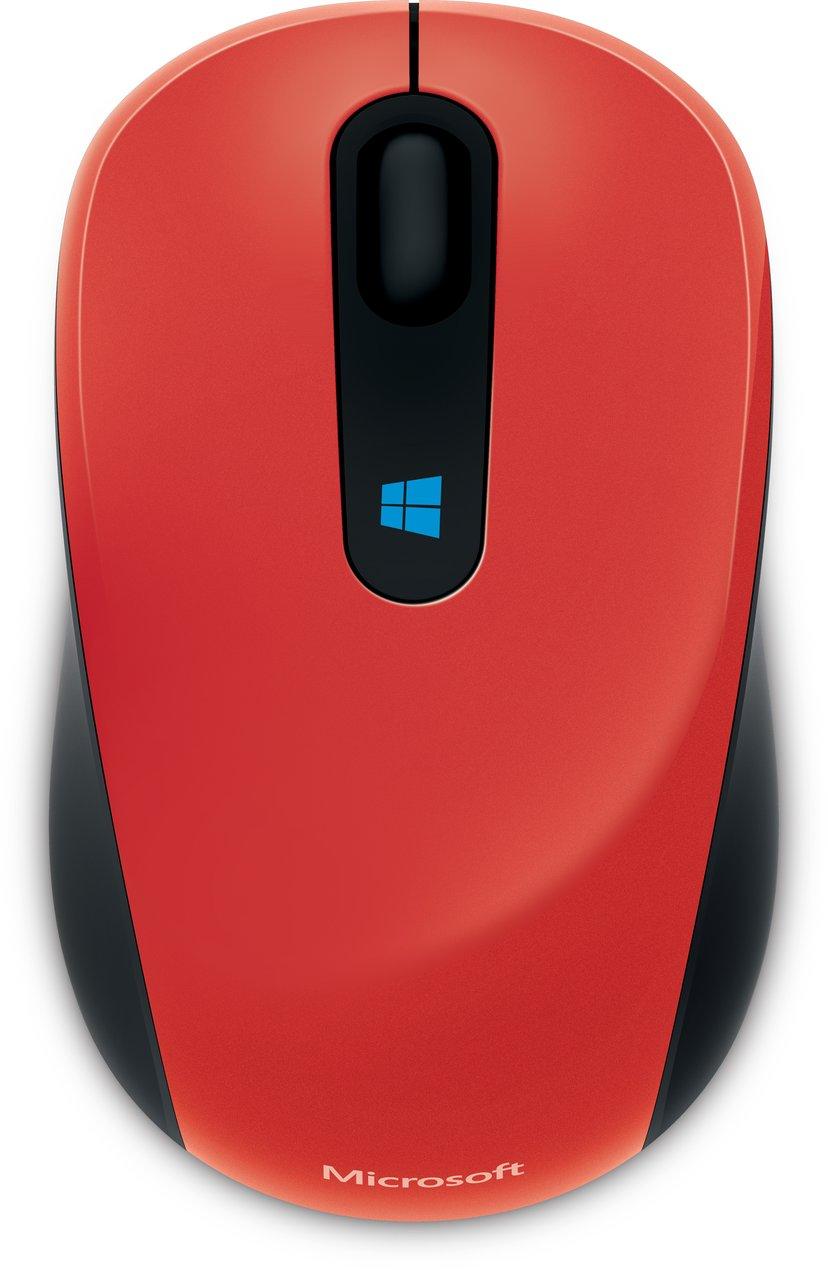 Microsoft Sculpt Mobile 1,000dpi Mus Trådløs Rød