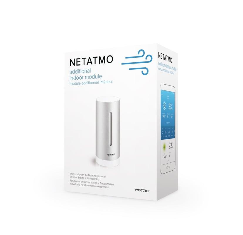Netatmo Ekstra innendørssensor – Værstasjon