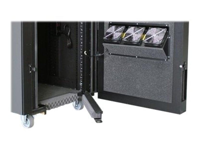 APC NetShelter CX teline virranjakoyksikön kanssa