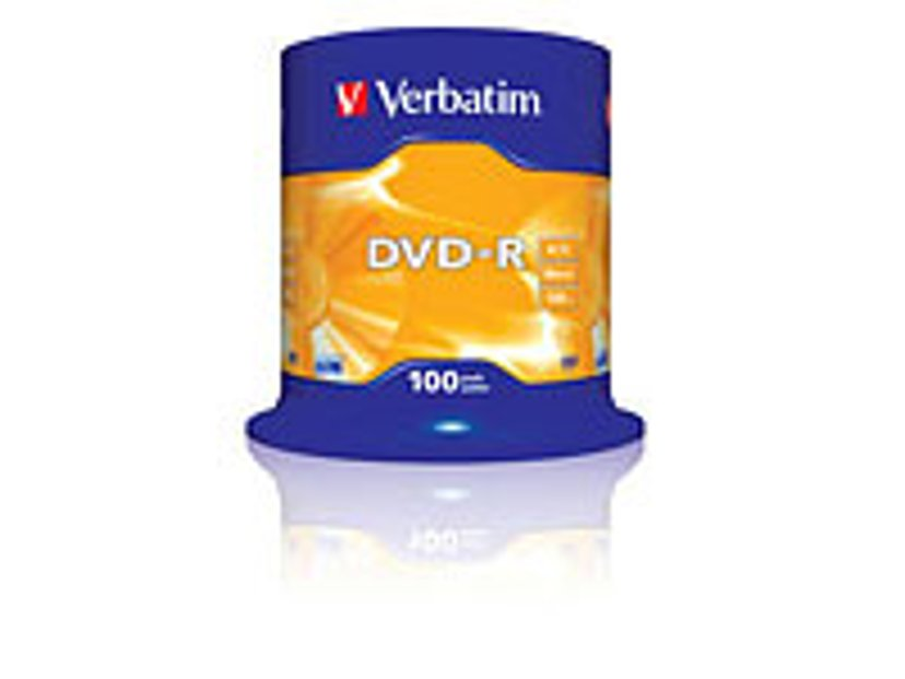 Verbatim 100 x DVD-R 4.7GB