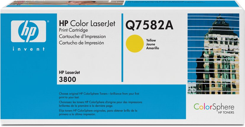 HP Värikasetti Keltainen 503A 6K - Q7582A