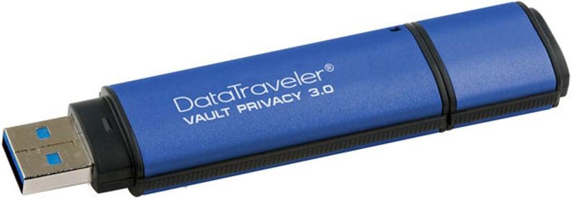 Kingston Datatraveler Vault Privacy 3.0 8GB USB 3.0 256 bitars AES