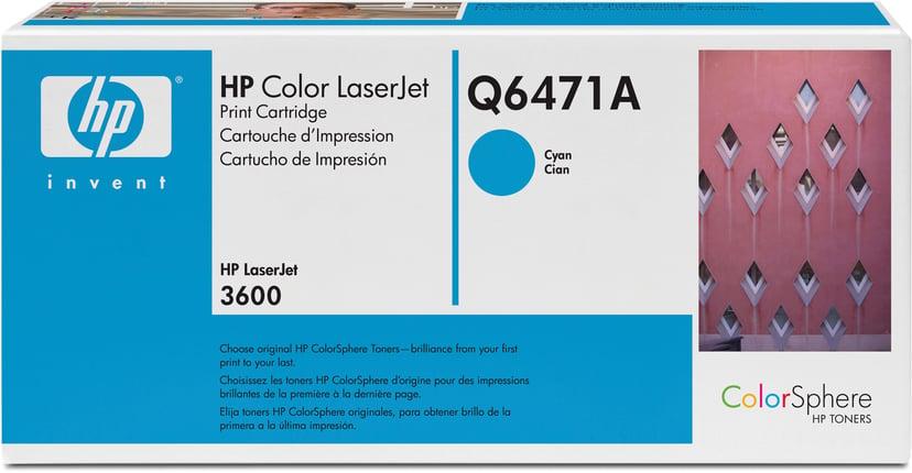HP Toner Cyaan - Q6471A