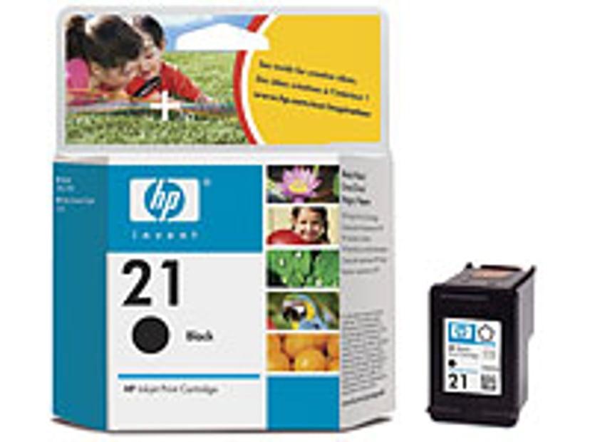 HP Muste Musta No.21