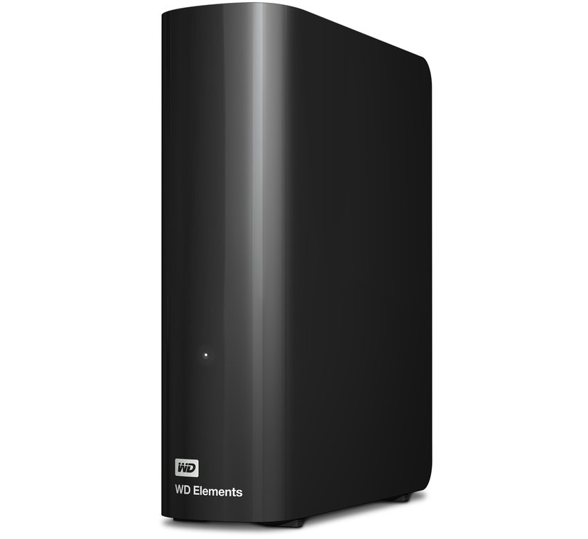 WD Elements Desktop 2TB Svart