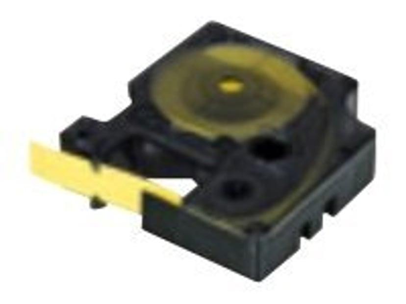 Dymo Tape RhinoPRO Heat Shrink 24mm Sort/Hvid