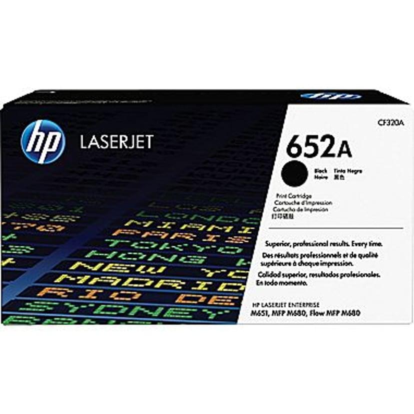 HP Toner Sort 652A 11.5K - CF320A