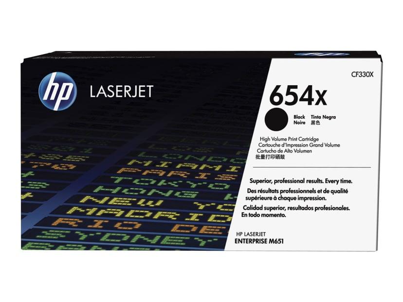 HP Toner Svart 654X 20.5K - CF330X