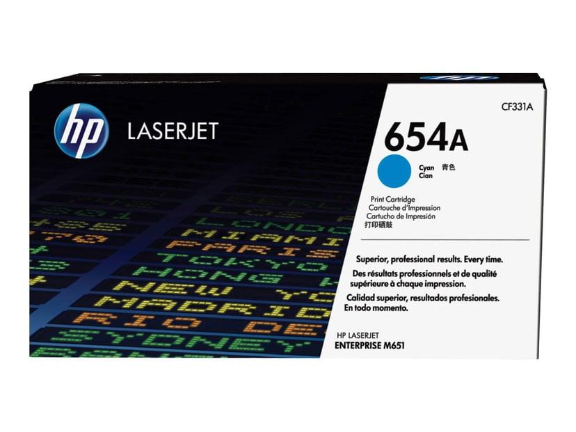 HP Toner Cyan 654A 15K - CF331A