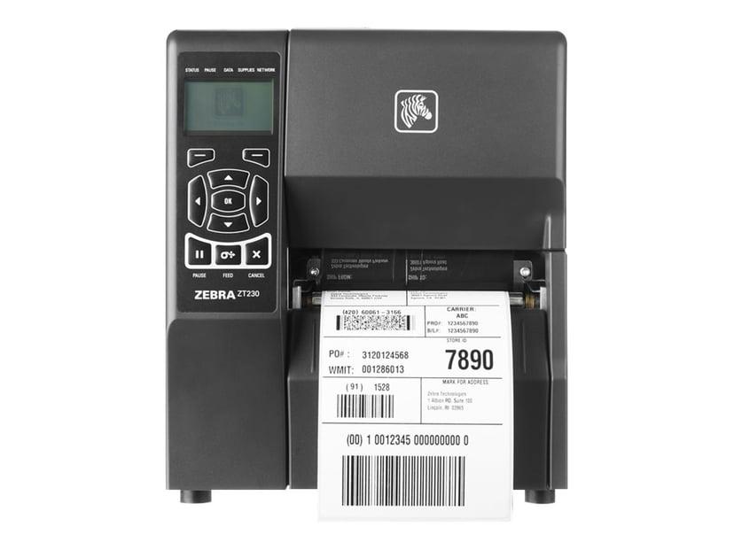 Zebra ZT230 DT/TT 203dpi USB/Seriell/Lan Peeler Liner Take Up