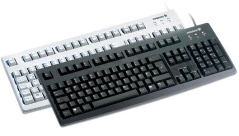 Cherry G83 6104 - tastatur - Engelsk Kabling Tastatur Engelsk - USA Sort