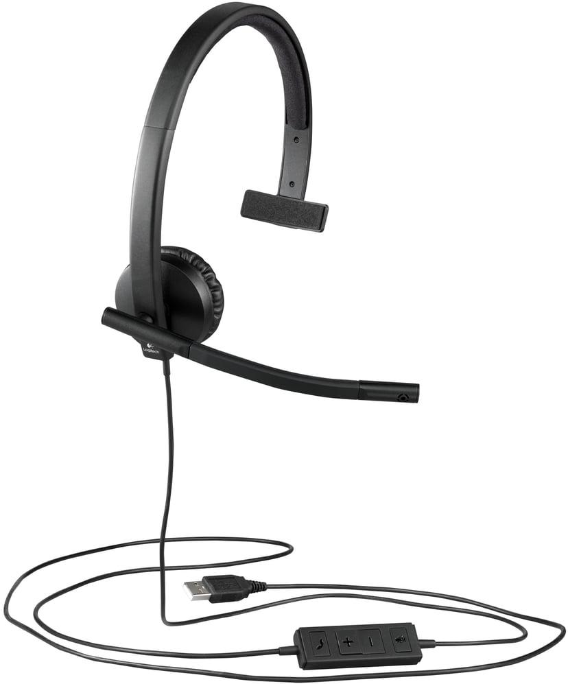 Logitech USB Headset H570e Musta