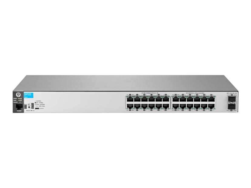 Aruba 2530 24xGbit, SFP+ Web-mgd Switch