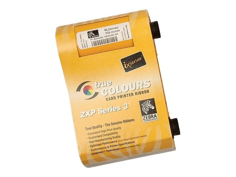 Zebra Färgband Color YMCKOK 165 Utskrifter - ZXP Series 3