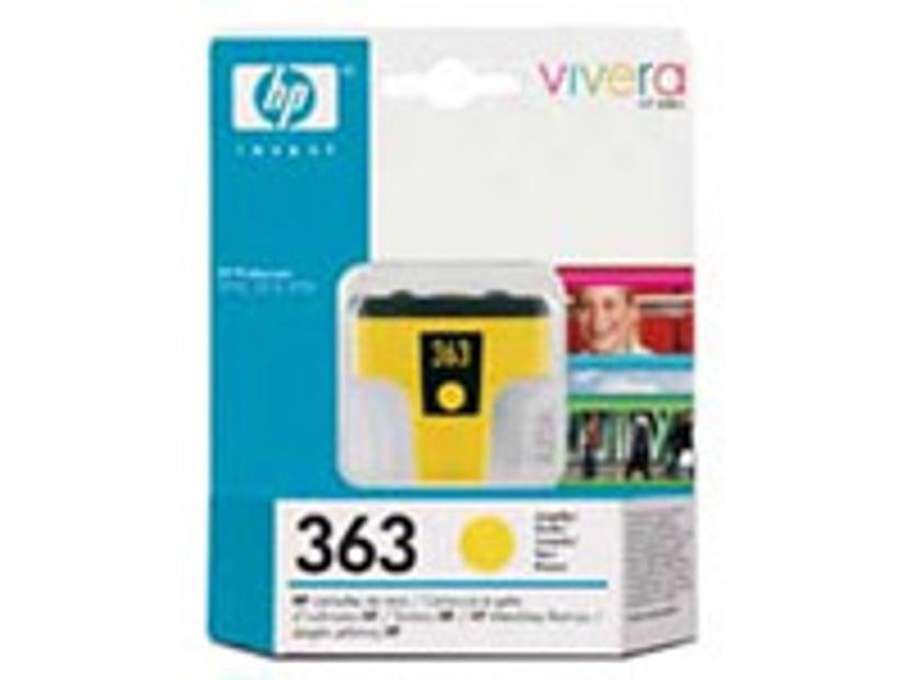 HP Muste Keltainen No.363 PS 8250 6ml