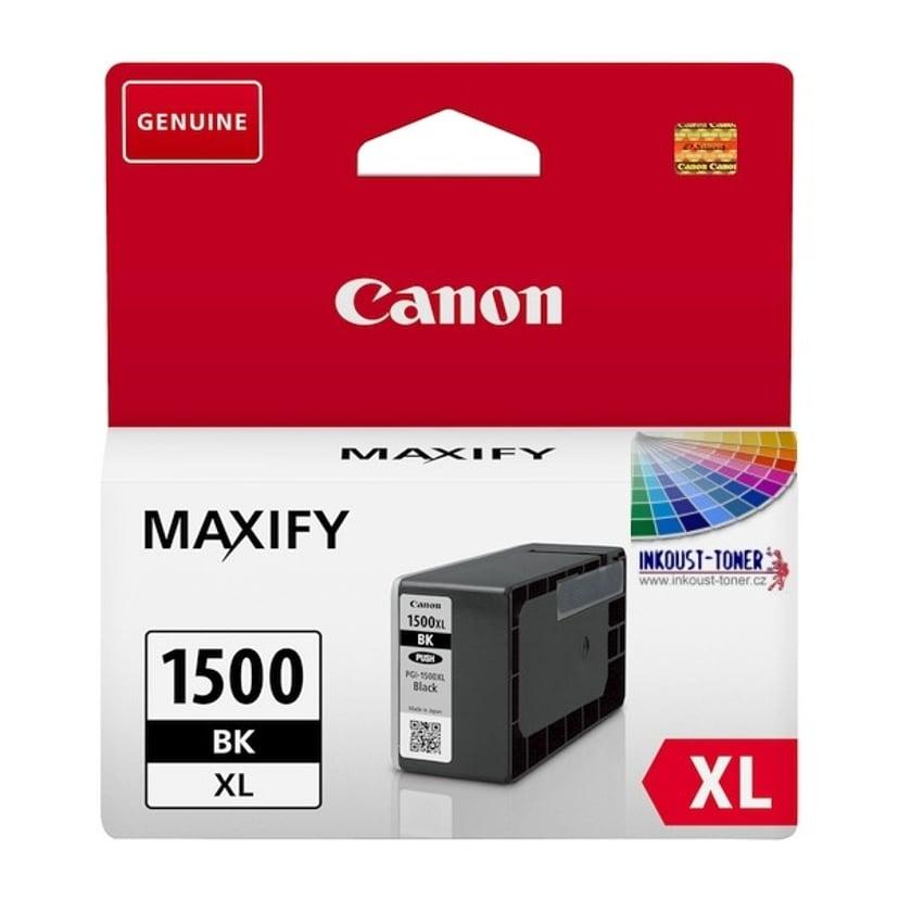 Canon Blekk Svart PGI-1500XL BK