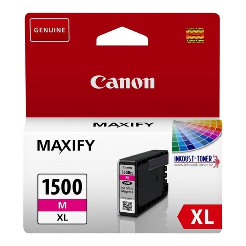 Canon Bläck Magenta PGI-1500XL M