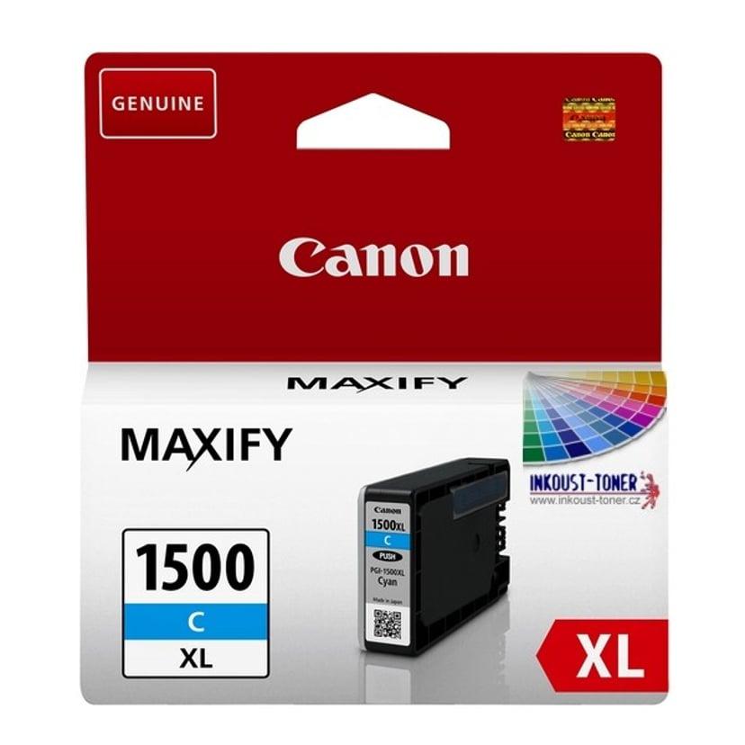 Canon Bläck Cyan PGI-1500XL C
